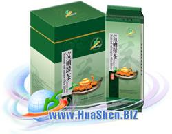 Зеленый чай марки ХуаШен с высоким содержанием селена. Натуральный природный источник селена - чай.