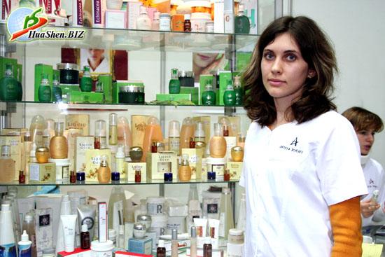 Huashen.biz - косметика хуашэн. производство лечебной косметики на основе китайских лекарственных трав.