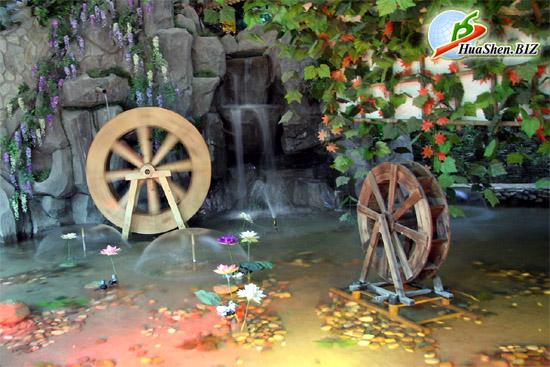 Как сделать колесо мельницы 615