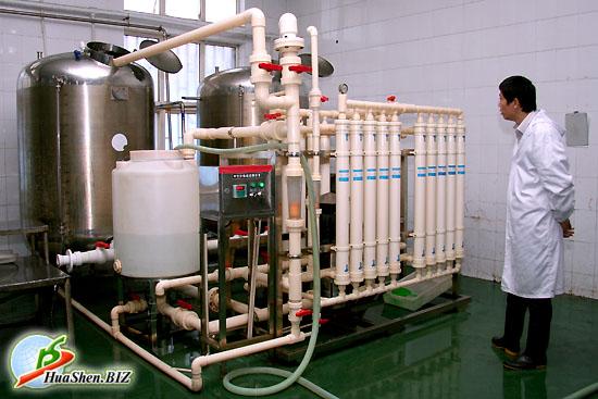 Первичные цеха по подготовке сырья к производственному процессу. Сырьевая база корпорации ХуаШен в Циндао.