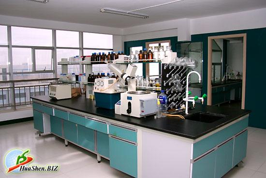 Исследовательская лаборатория фабрики ХуаШен по производству натуральных растительных препаратов: коллагена, кордицепса, шиповника, линчжи и др.