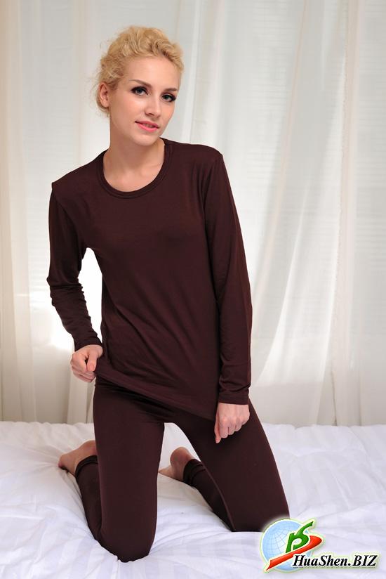 Нательное белье женское с биофотонами ХуаШен. Лечебное нательное белье. Женская пижама. Нательная пижама для женщин. Купить женскую пижаму.